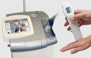 Zabieg depilacji Laserem Vectus sprzęt